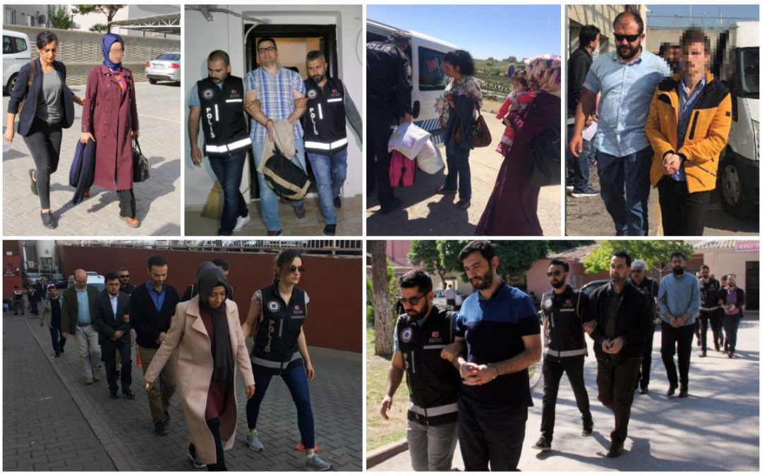 At least 489 people detained over Gulen links in past week: data