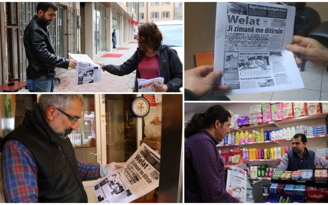 With printing house seized, Turkey's only Kurdish daily newspaper tries to survive with photocopying