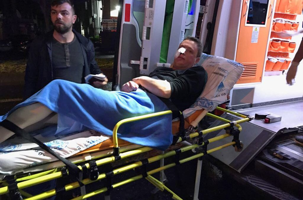 5 injured during knife attack at opposition Good Party's stall in Istanbul