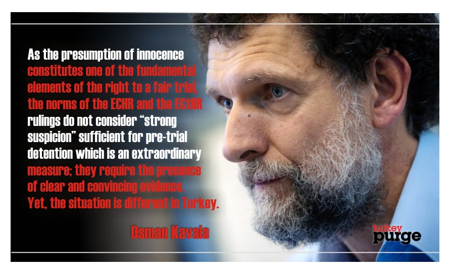 Osman Kavala writes from prison: Thousands await for preparation of indictments under detention in uncertainty for months