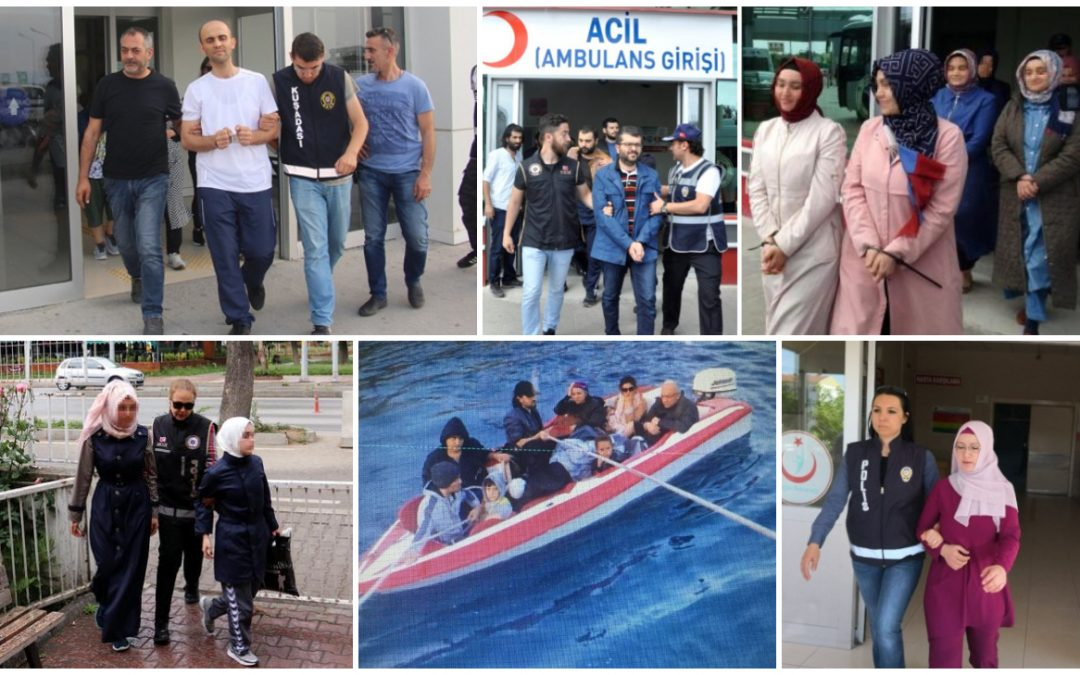 527 people detained over Gulen links in past week: data