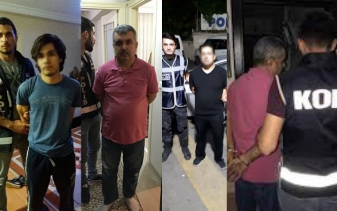 [VIDEO] 118 houses in Izmir raided, 72 people detained over Gülen links
