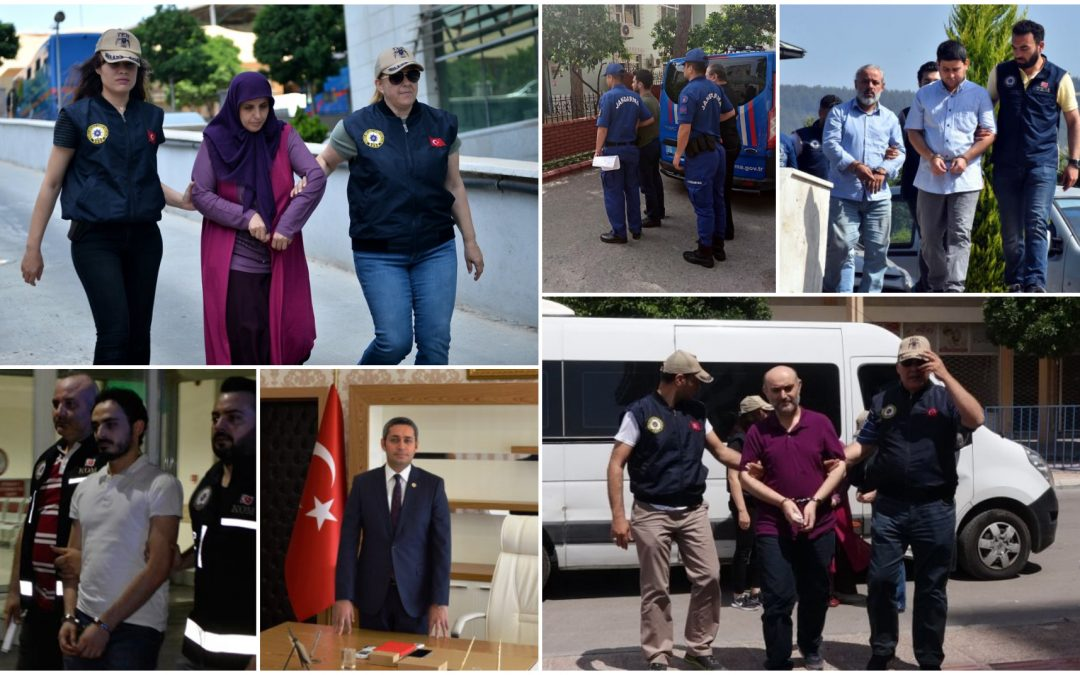 545 people detained over Gulen links in past week: data
