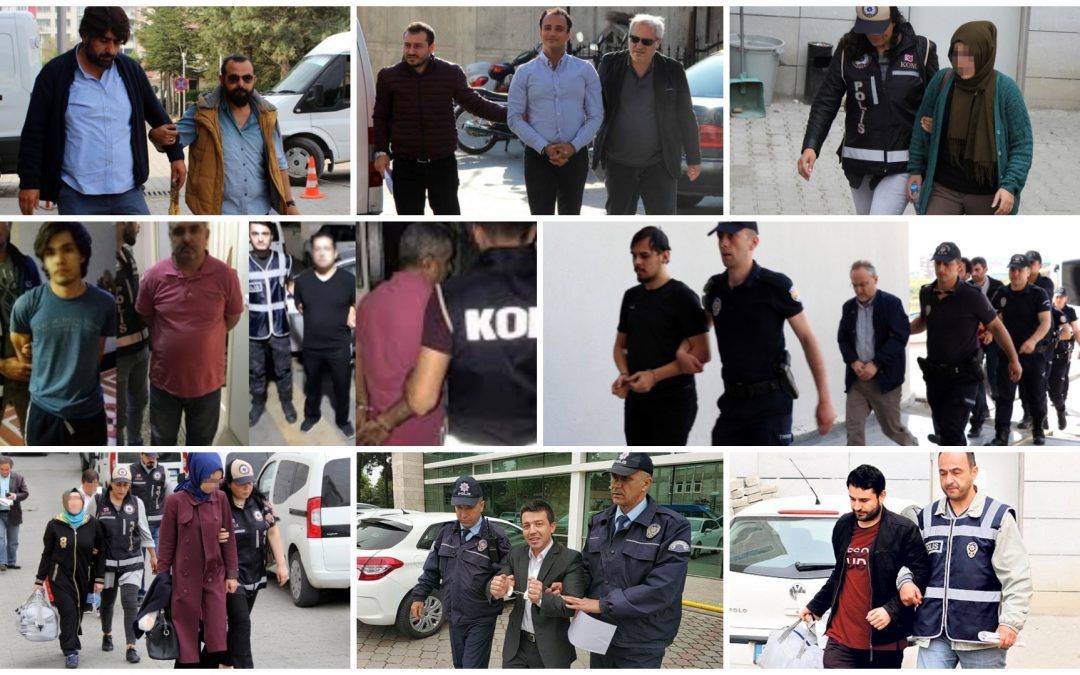 587 people detained over Gülen links in past week: gov't
