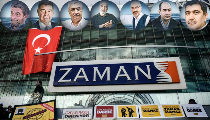 Court rules to keep 19 Zaman journalists in pre-trial detention for another month