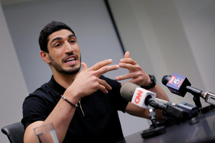 Knicks' Kanter fails to attend Oslo Freedom Forum as passport revoked by Turkish gov't