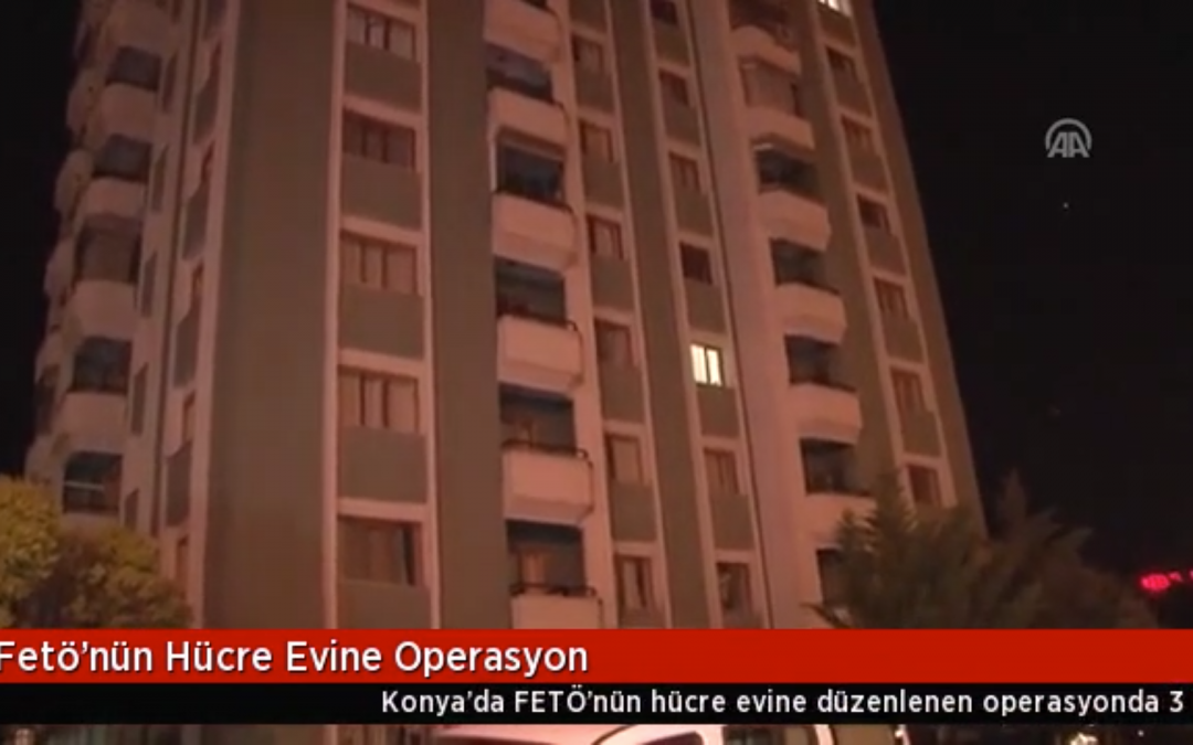 [VIDEO] 3 detained over Gulen links during midnight police raid in Turkey's Konya