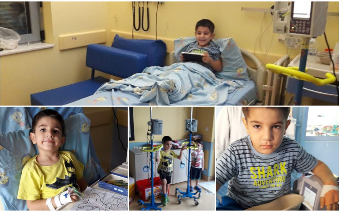 5-year-old Turkish asylum seeker in Athens diagnosed with cancer