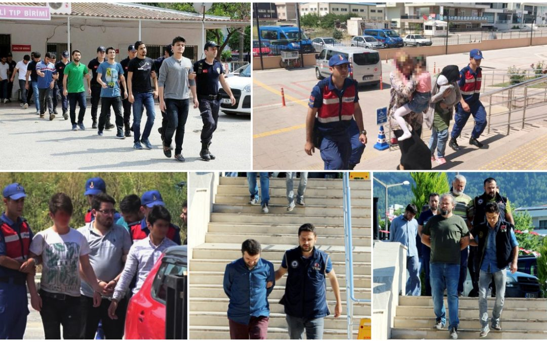119 people detained over Gülen links in past week: gov't