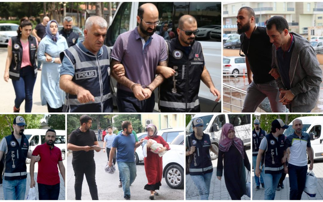 492 people detained over Gülen links in past week: gov't