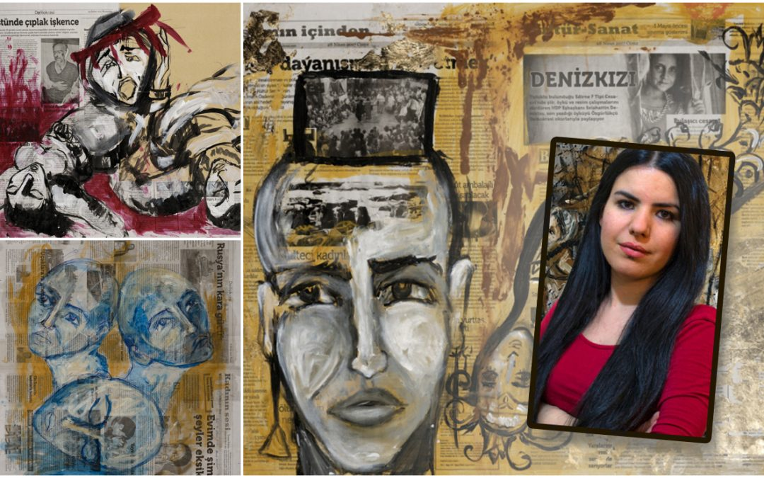 Jailed journalist Zehra Dogan says prison guards destroy her paintings