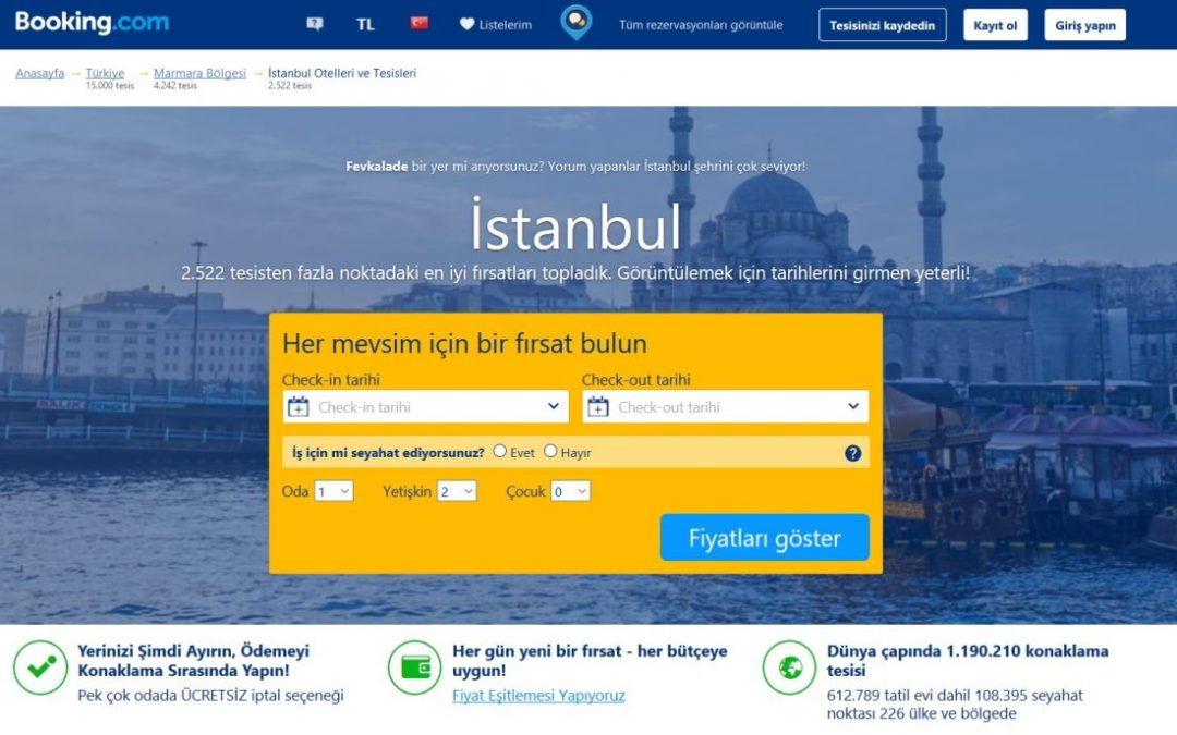 booking.com remains banned in Turkey: İstanbul court