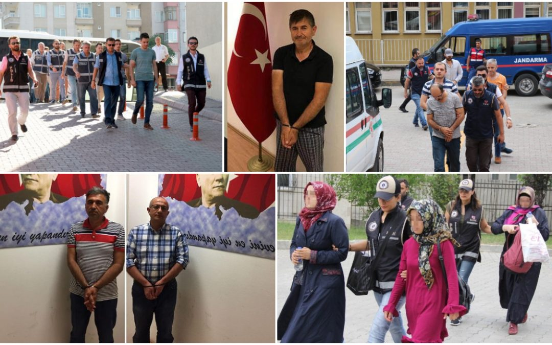 467 people detained over Gülen links in past week: gov't