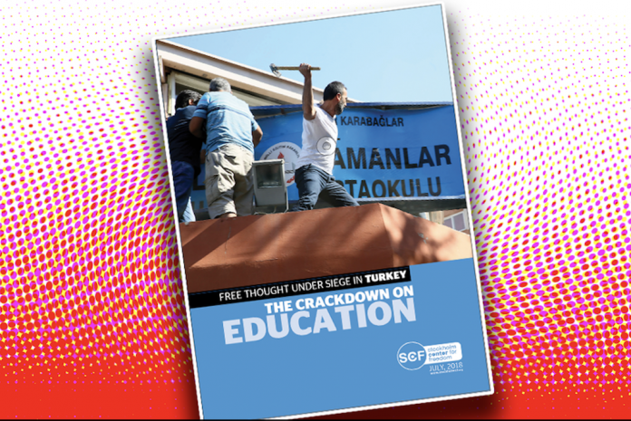 Crackdown on education sector in Turkey deals blow to free thought: report