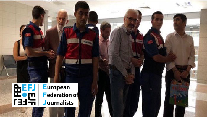EFJ: Conviction of Zaman journalists a politically motivated decision
