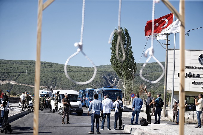 Report: 1,655 people get life sentences in Turkey's coup trials over past 2 years