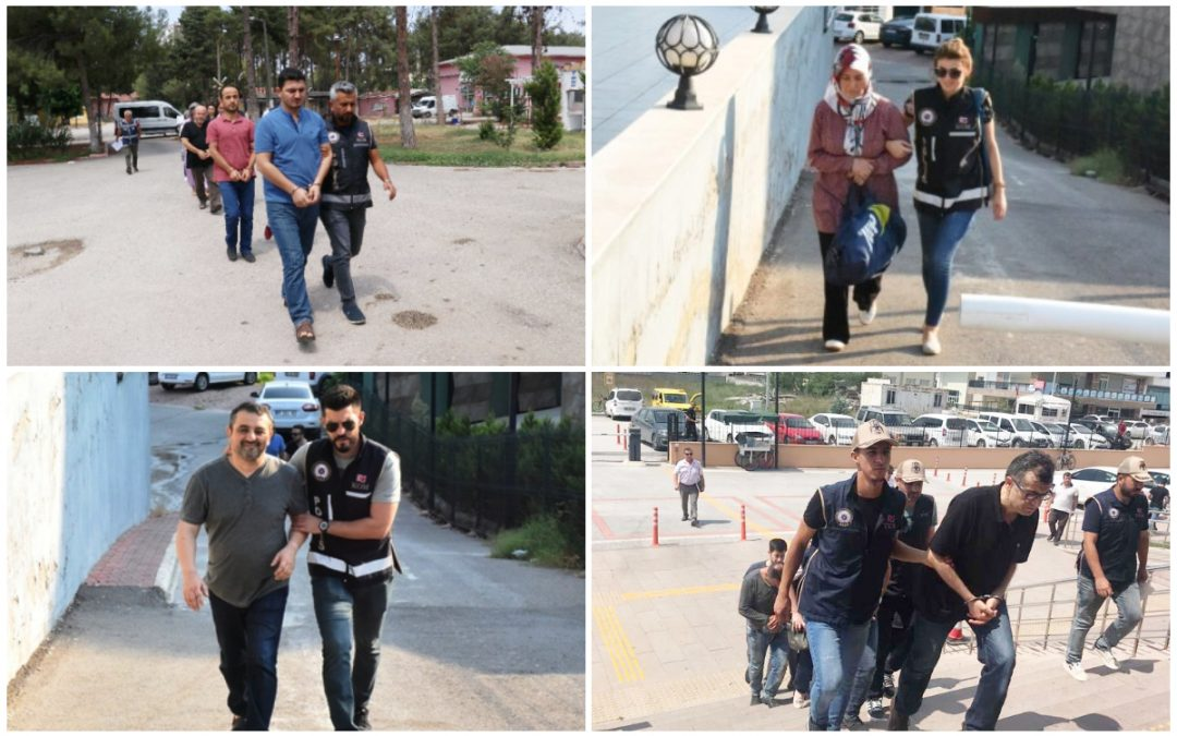 334 people detained over Gülen links in past week: gov't