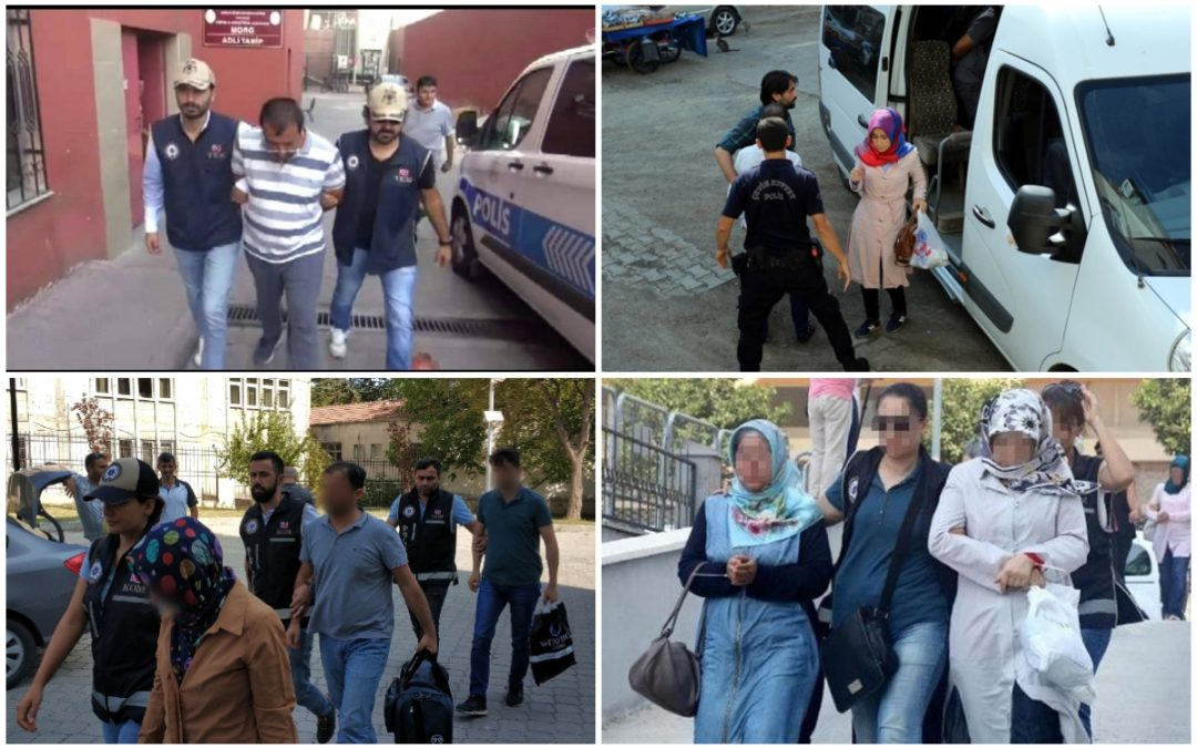 153 people detained over Gülen links in past week: gov't