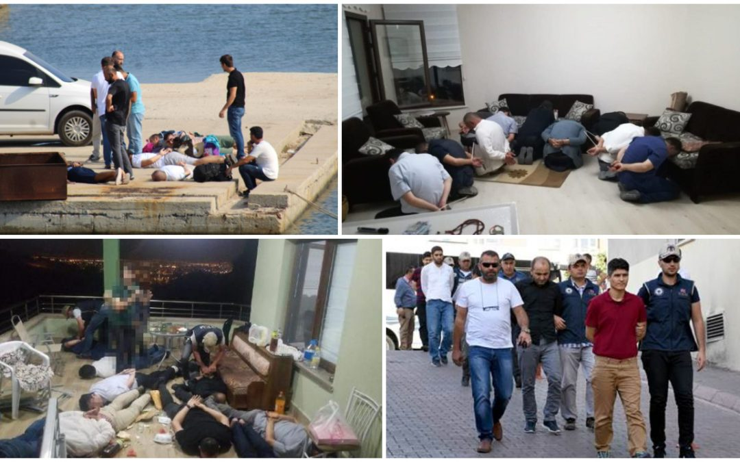 239 people detained over Gülen links in past week: gov't