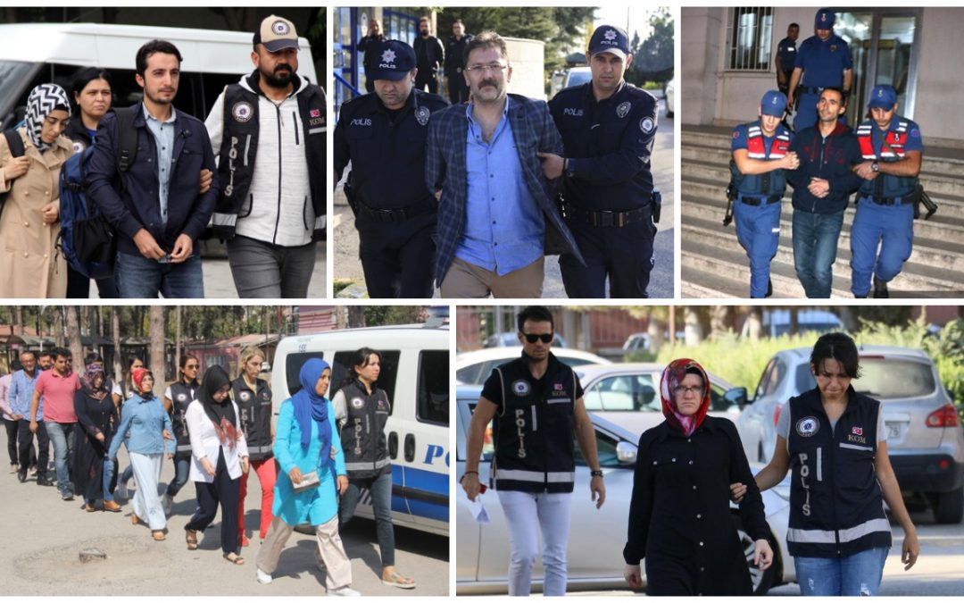 Yet another 461 people detained over Gülen links in past week: data