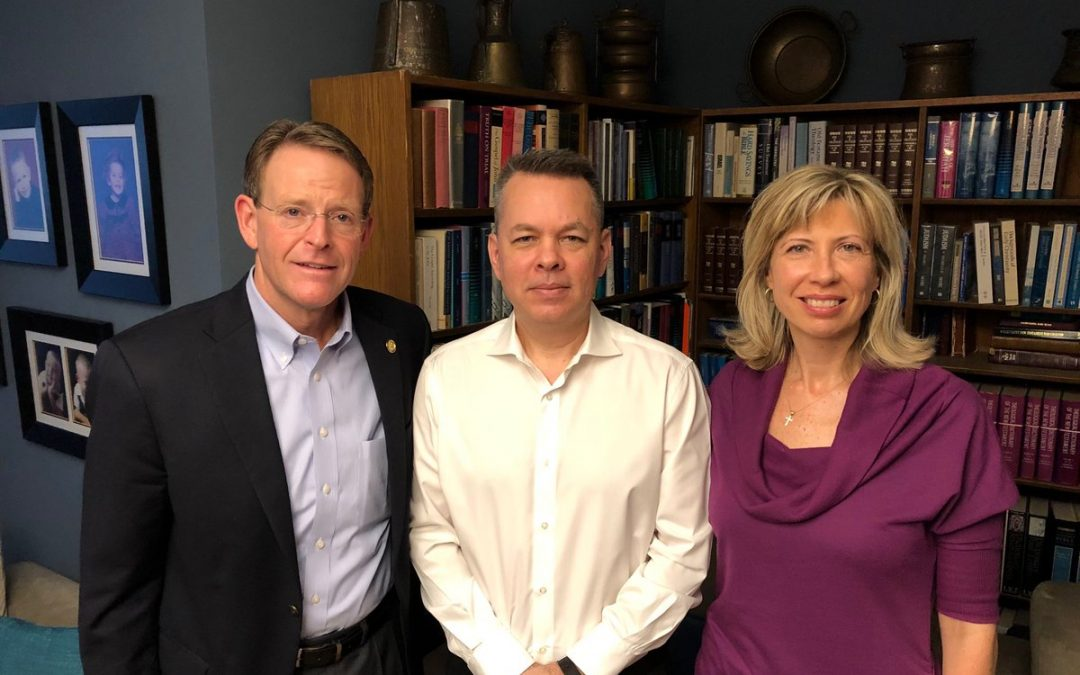 American Pastor Andrew Brunson leaves Turkey after two years of imprisonment