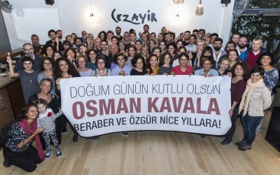 Turkish activist Osman Kavala spends another birthday in İstanbul prison