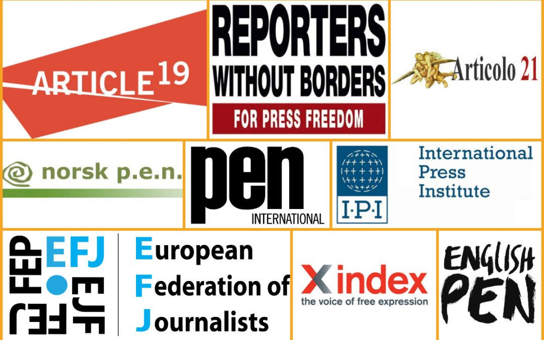 9 int'l organizations urge EU to raise Turkey's freedom of expression crisis during upcoming meetings