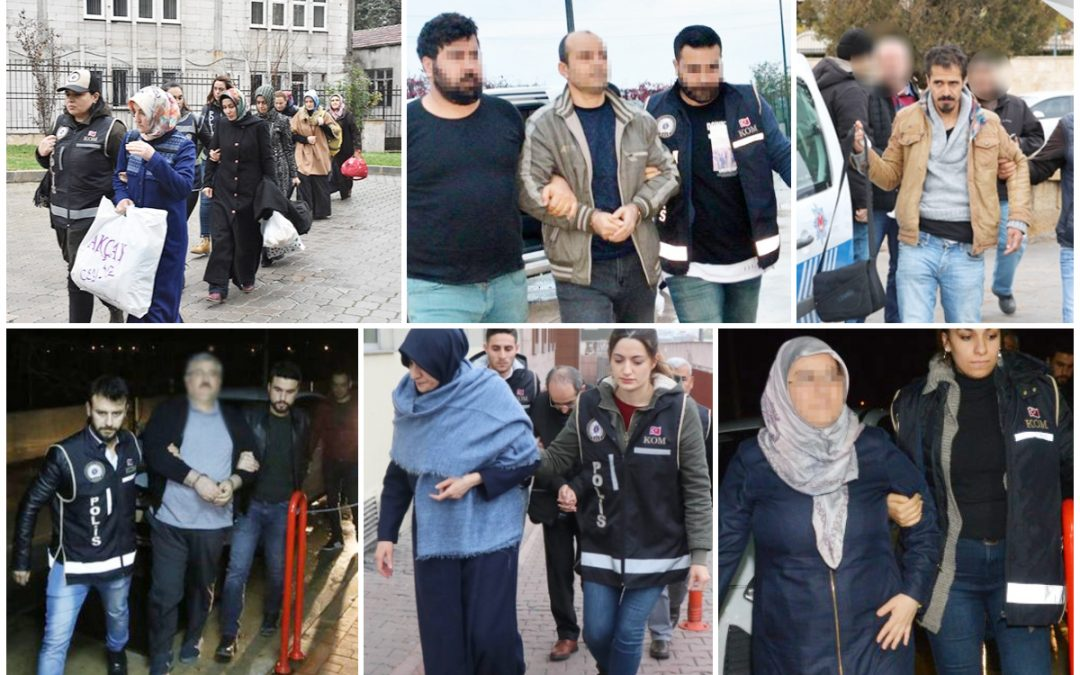 538 people detained over Gülen links in past week: gov't