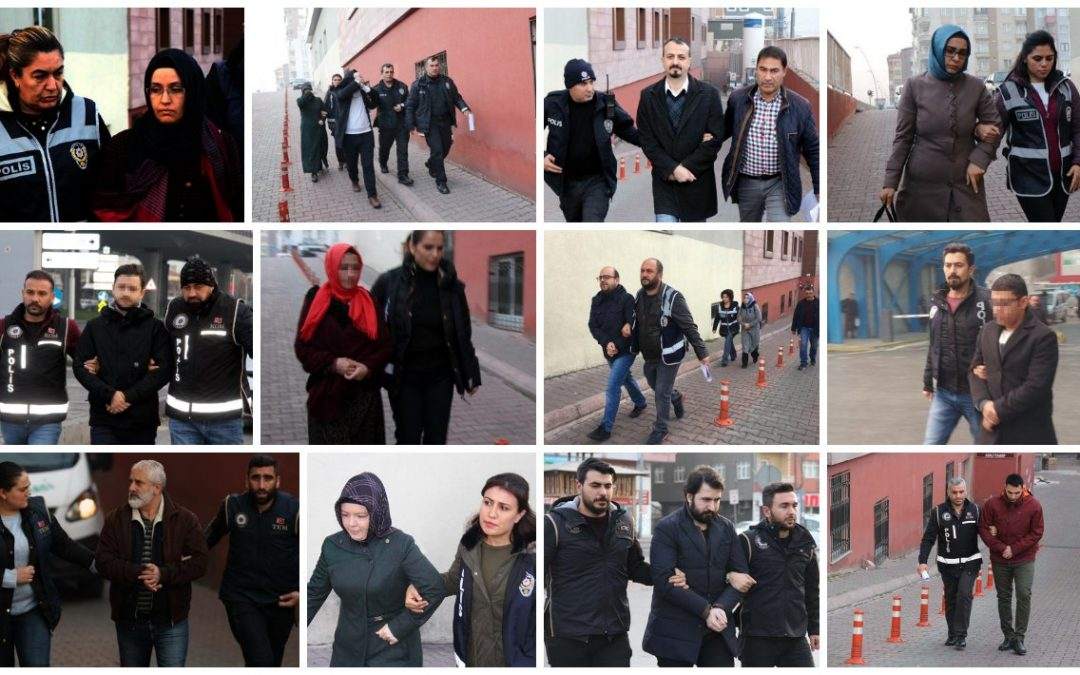 696 people detained over Gülen links in past week: gov't
