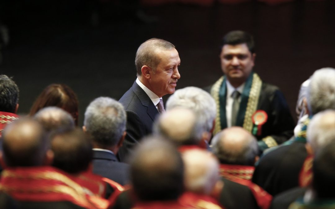 In 2017, Turkish prosecutors launch 20,539 investigations on charges of insulting Erdogan