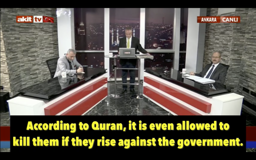 [VIDEO] Pro-Erdoğan rector at Dutch university says permissible to kill Gulenists