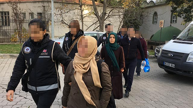 [VIDEO] 4 detained over Bylock use in Turkey's Samsun