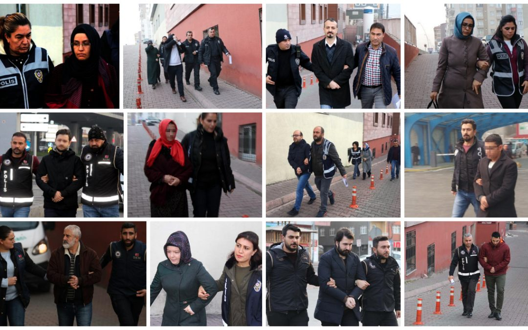 Detention warrants issued for 208 over Gulen links in past day alone