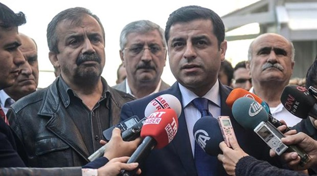 Turkish appeals court upholds jail sentence for Kurdish politicians Demirtaş