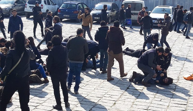 17 detained during protests marking 15th anniversary of Önder Balat's death