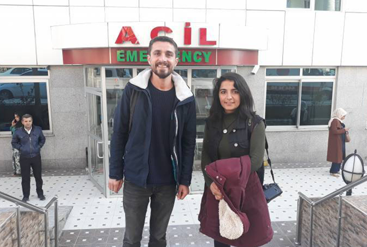 Two journalists for pro-Kurdish media outlets detained in Turkey's Mardin