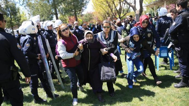 23 detained over sit-in they held in solidarity with jailed family members