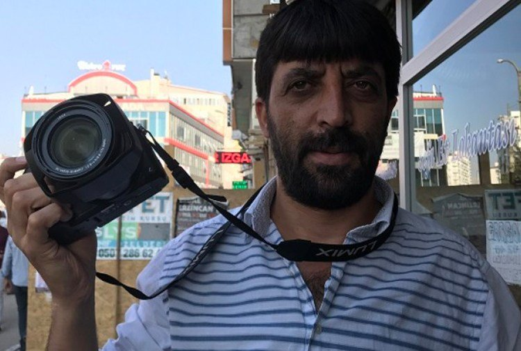 "Kurdish journalist Oktay Candemir under police custody over ""terrorism propaganda"""