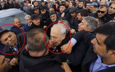 Turkey's main opposition leader attacked at military funeral in Ankara