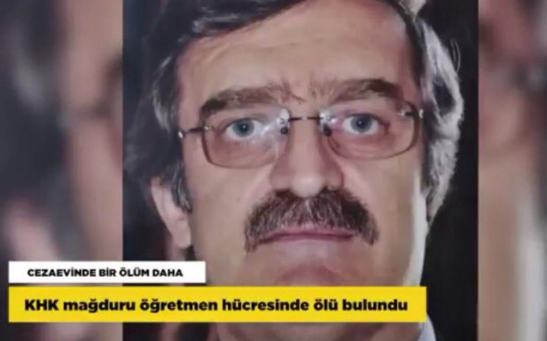 Purge-victim teacher dies of heart attack in Çorum prison
