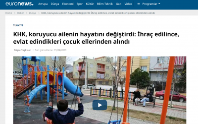 [VIDEO] Turkish gov't removes 3-year-old adopted child from foster family over Gülen links