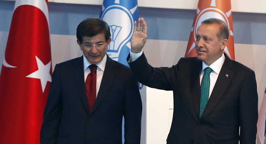Just hours after Davutoglu criticized Erdogan, university cancels speech by Davutoglu's wife
