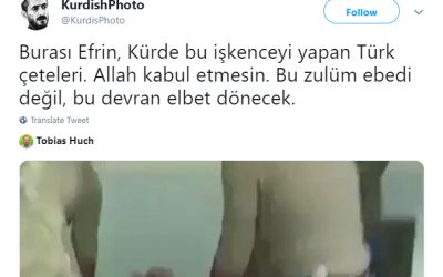 Video purportedly shows Turkish soldiers torturing Kurdish villager in Afrin
