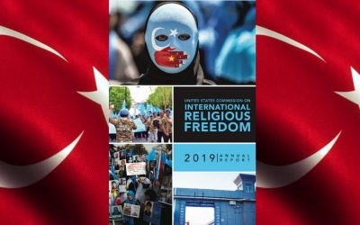 US says religious freedoms in Turkey remained deeply troubling in 2018