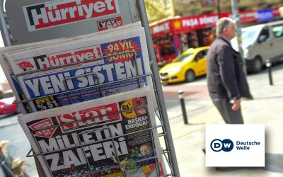 DW: Turkish gov't cancels press credentials of 682 journalists in 4 months