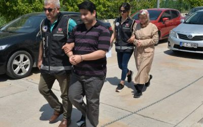 [VIDEO] Turkish couple detained after 2 years in hiding government's post-coup crackdown