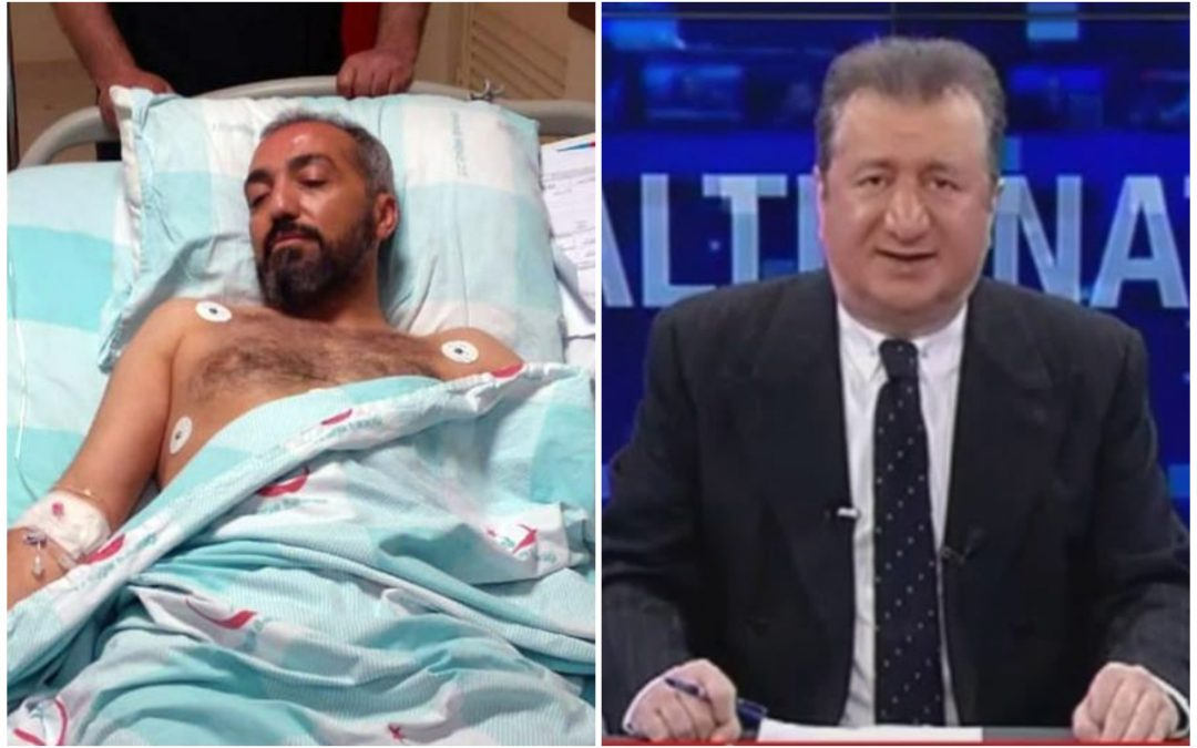 One journalist shot in the foot, another gets attacked by group