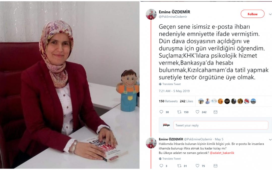 Psychiatrist under investigation over therapy services to victims of Erdogan's purge