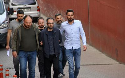 [VIDEO] 8 detained over Gulen links during police raid on student apartment
