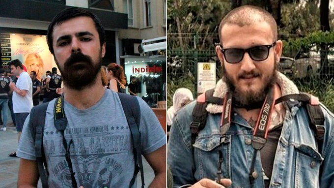 Two pro-Kurdish journalists detained on terror charges released on bail: report